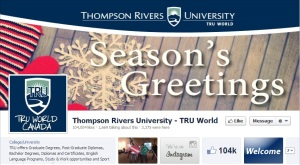 TRU World's Facebook page passed the 100,000 like mark on Dec. 17, 2012. - Image courtesy Facebook and TRU World.