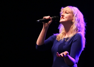Vita Andersone performs during the International Showcase. - Photo by Kevin Skrepnek