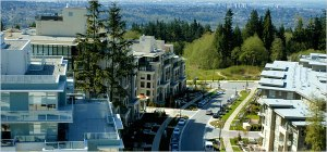 SFU's UniverCity (pictured) is one of the model's for TRU's University Village. - Photo by Soggybread/ Wikimedia Commons