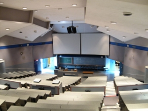 Huge lecture halls, like this one at UBC, are common at large research universities, and some worry TRU is on a path toward that fate. - PHOTO COURTESY LEOBOUDV/WIKIMEDIA COMMONS