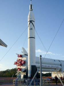 Rocket in Kennedy Space Center's rocket garden- PHOTO COURTESY OF MARIE & ALISTAIR KNOCK